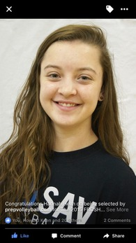Hannah Helm's Women's Volleyball Recruiting Profile