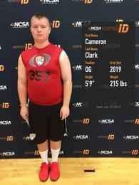 Cameron Clark's Football Recruiting Profile
