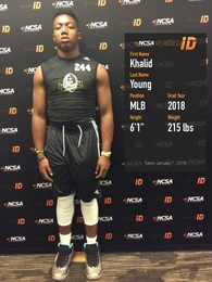 Khalid Young's Football Recruiting Profile