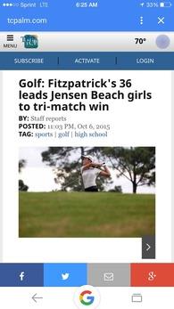 Brianna Fitzpatrick's Women's Golf Recruiting Profile