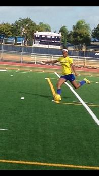 Andrea Edwards's Women's Soccer Recruiting Profile