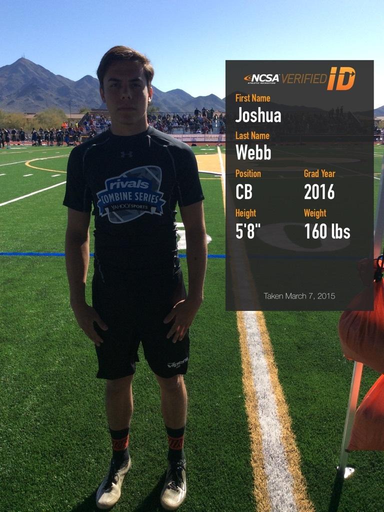 Link to Arizona Football Recruit Profile