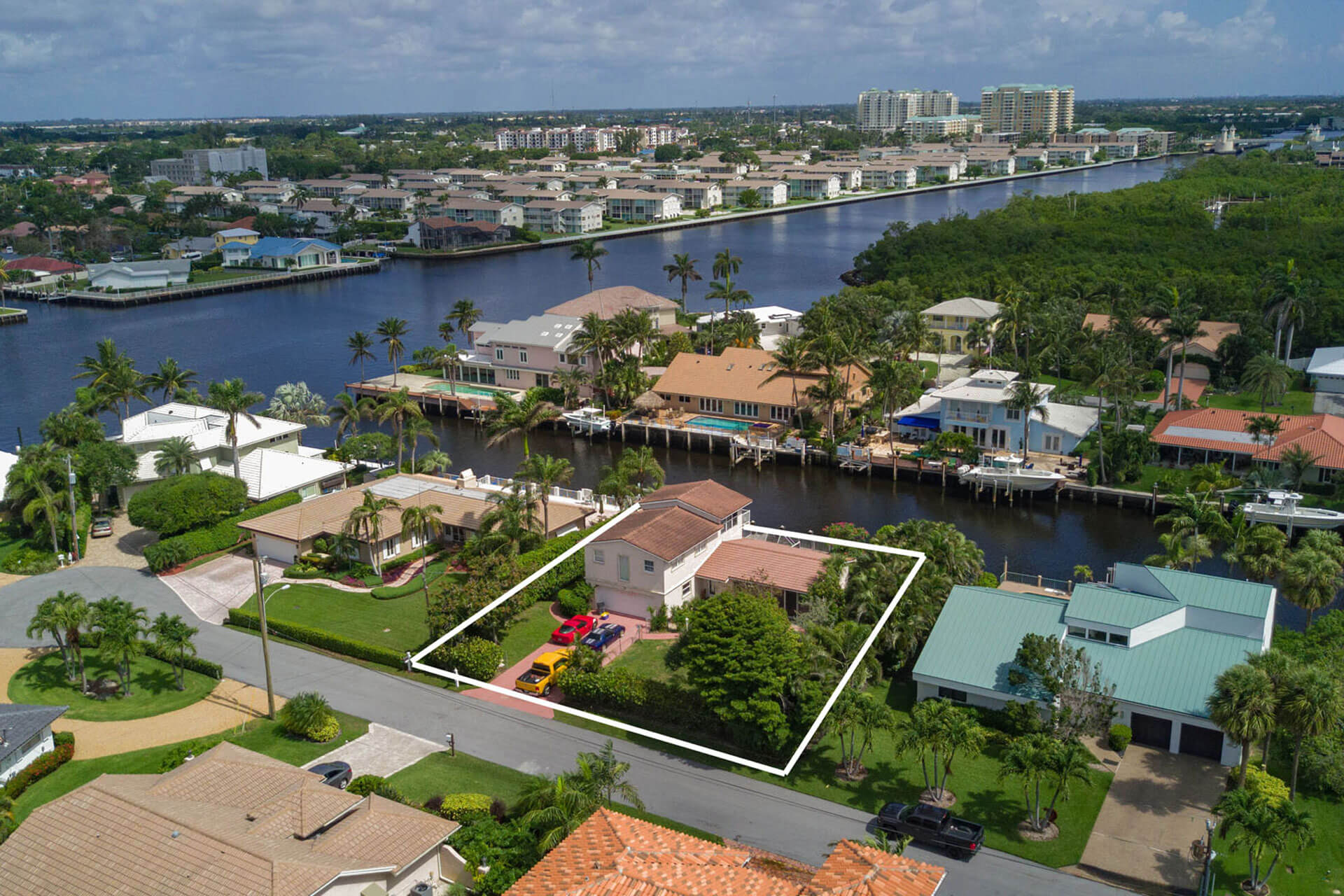 Ocean Ridge Waterfront Parcel Just Listed by Nick Malinosky