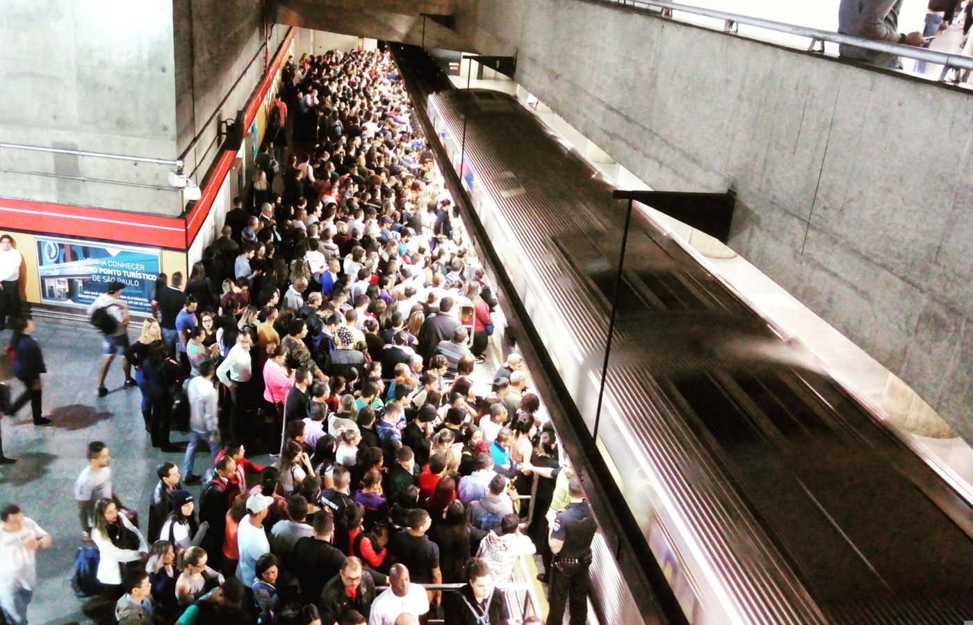linha do metrô
