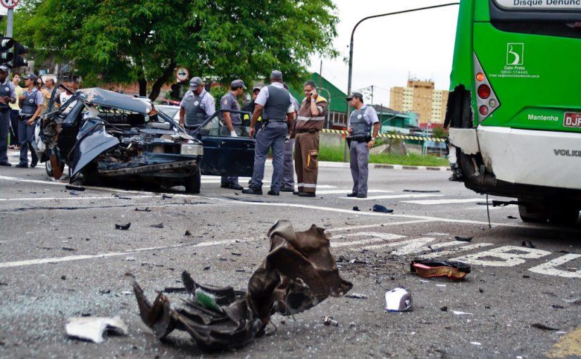 Zona leste ocupa segundo lugar em socorridos por acidentes de trânsito