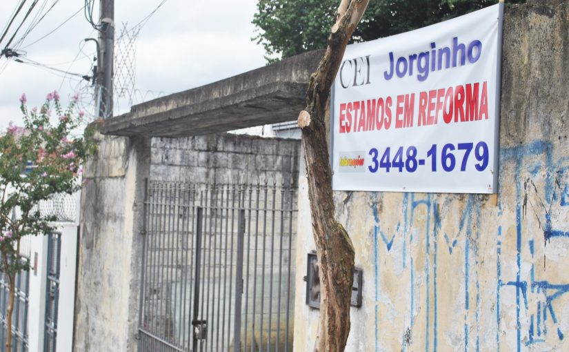 Prefeitura matricula crianças em creches inacabadas na Cidade Ademar