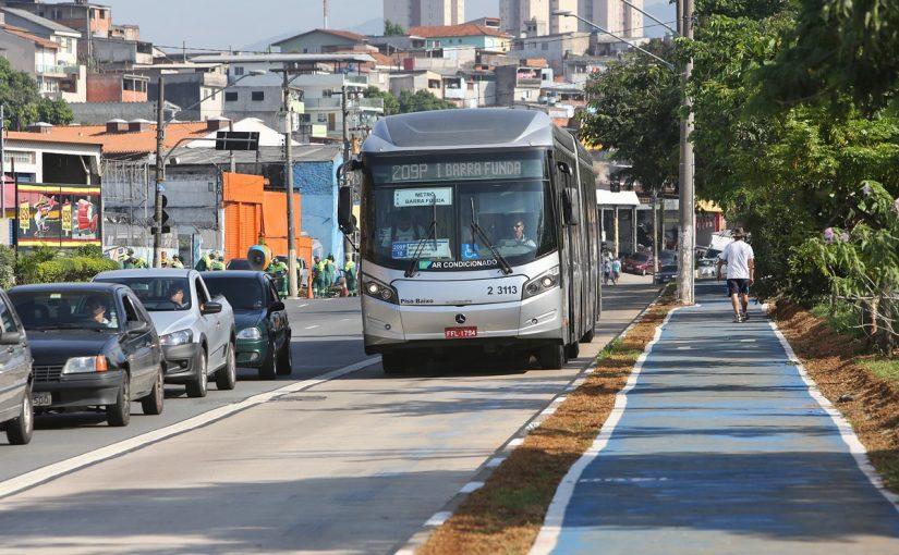 Prefeitura reduz meta de novos corredores de ônibus e foca na zona leste de SP