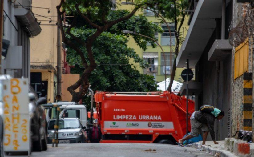 Como fica a limpeza urbana durante a quarentena em São Paulo