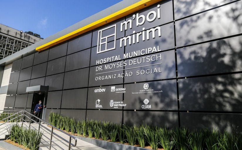 M'Boi Mirim recebe 100 novos leitos para tratar pacientes com covid-19