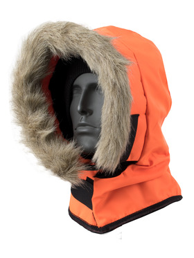 HV Orange  Hardhat Hood ORIGINALLY $45
