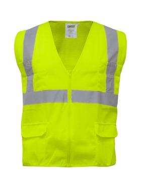 Zipper Mesh Safety Vest