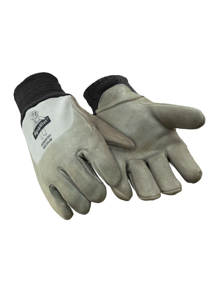 Goatskin Leather Glove with Latex Coating