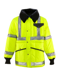 HiVis Iron-Tuff® Jackoat® w/ Reflective Tape