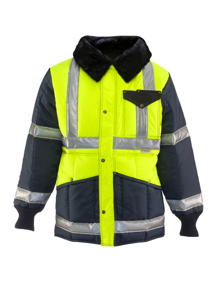 HiVis Iron-Tuff® Two-Tone Jackoat®