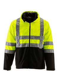 HiVis 3-in-1 Insulated Rainwear Jacket