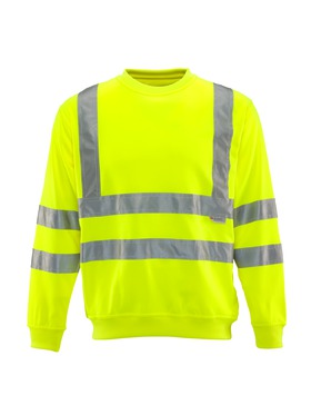 HiVis Crew Sweatshirt - ORIGINALLY $50!