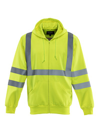HiVis Hooded Sweatshirt