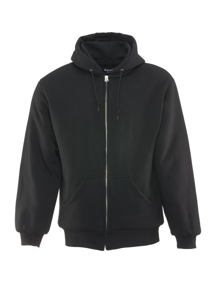 Insulated Quilted Sweatshirt