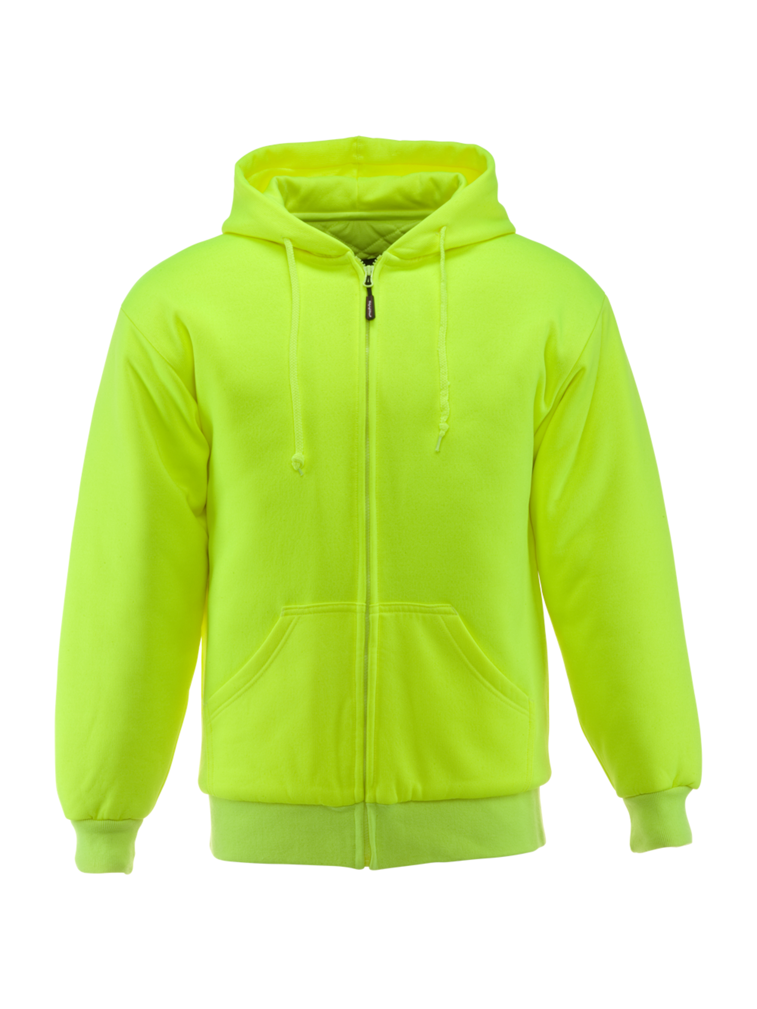RefrigiWear™ Insulated Quilted Sweatshirt , Lime , 3XL , Regular , Polyester/Fabric/Cotton