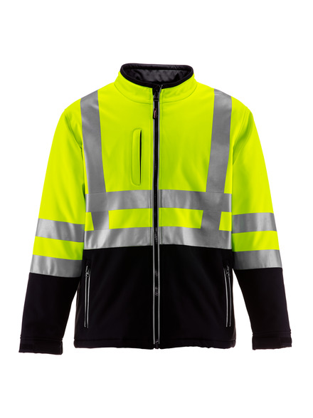 HiVis Insulated Softshell