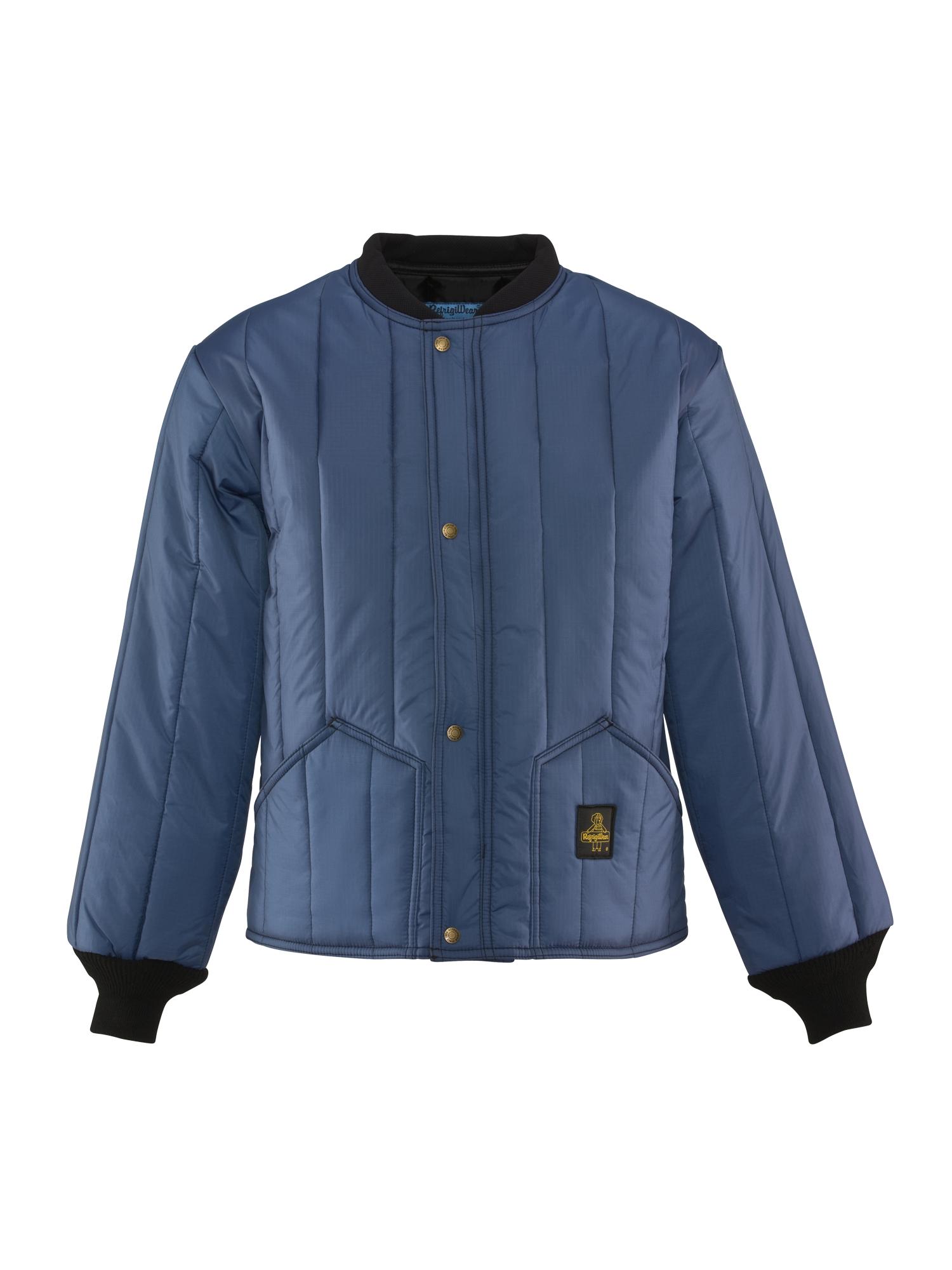 Refrigiwear , Cooler Wear™ Jacket , Navy , X-Small , Regular , Polyester/Nylon