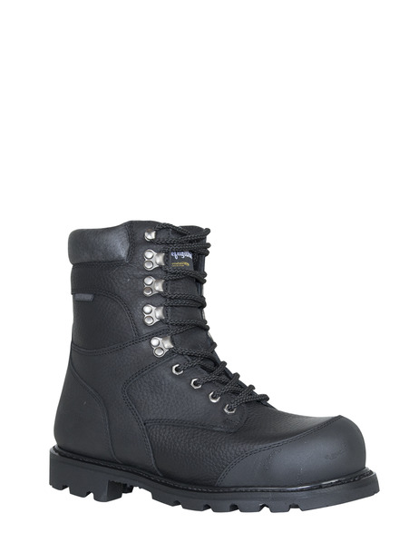 Titanium Leather Boots Refrigiwear