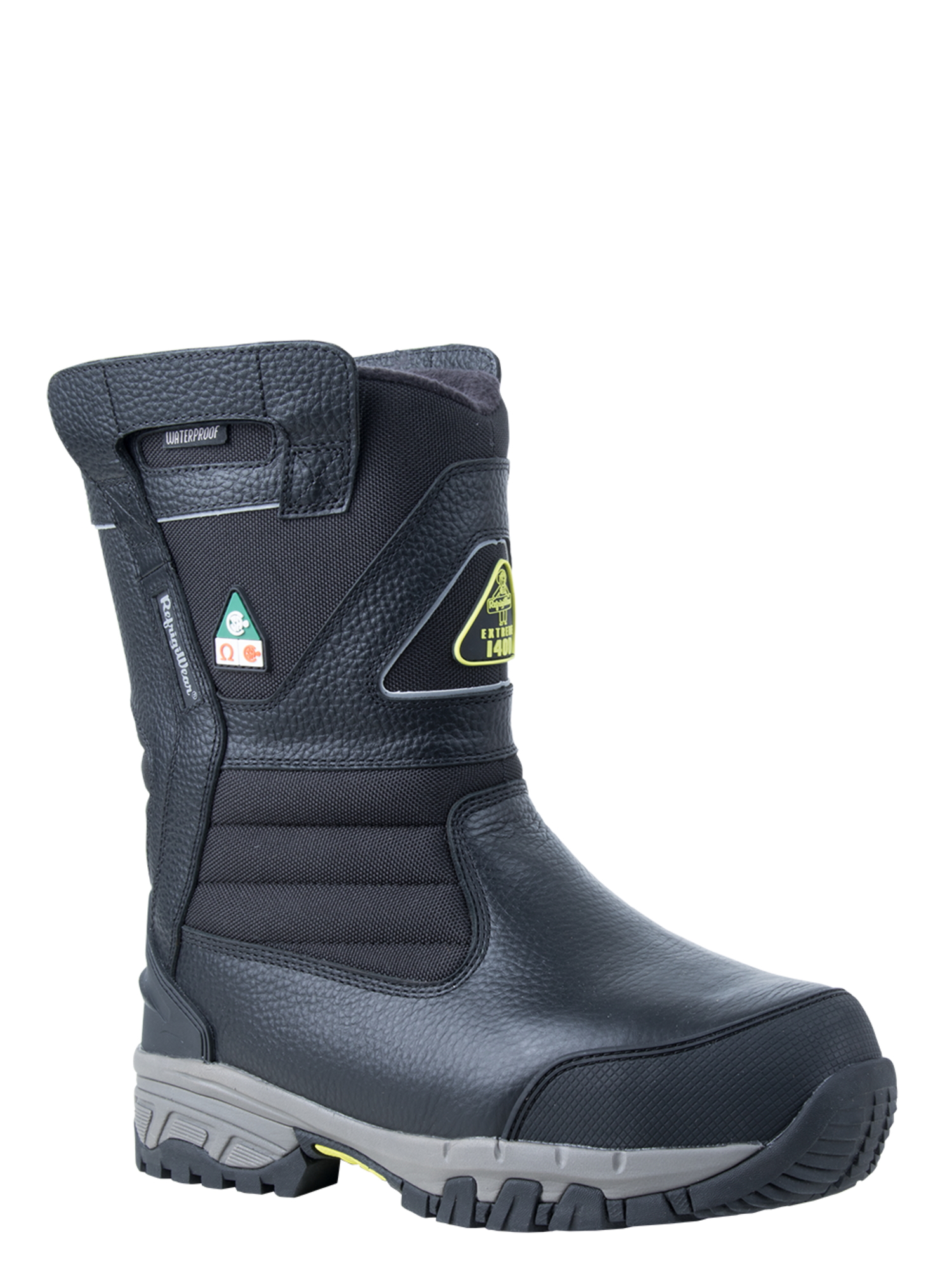 RefrigiWear™ Extreme Freezer Pull-On Boot | Waterproof | Black | 14 | Leather/Nylon