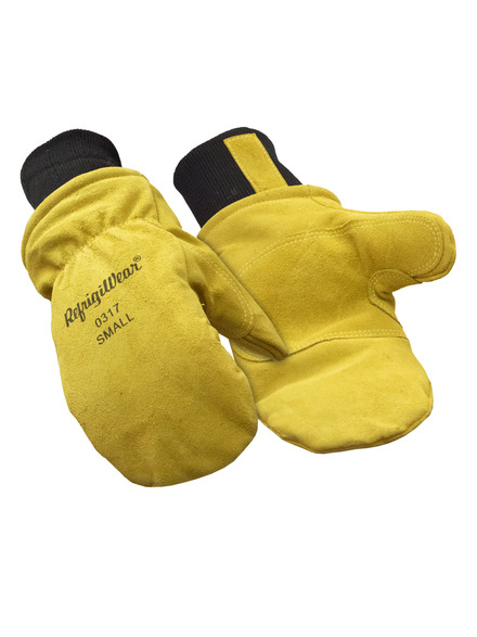Insulated Leather Mitt