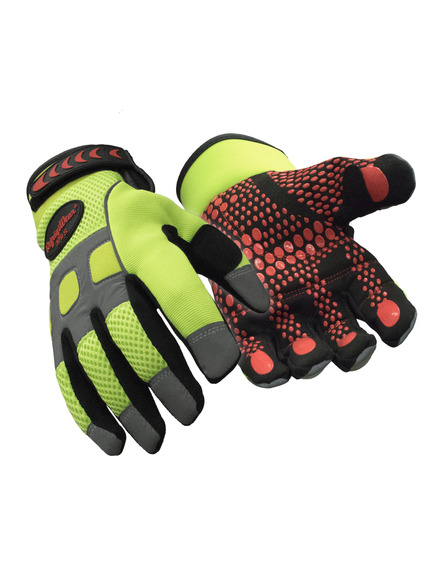 Insulated HiVis Super Grip Glove