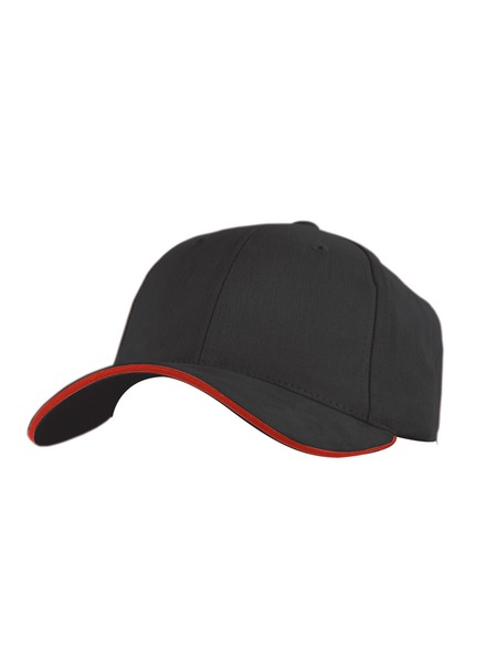 Brushed Sandwich Ball Cap