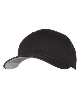 Fitted Cotton Blend Cap