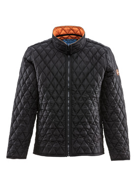 Lightweight Diamond Quilted Jacket