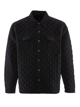 Quilted Microfleece Jacket ORIGINALLY $50