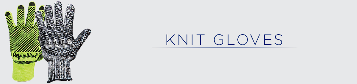 Knit Work Gloves for a Range of Conditions