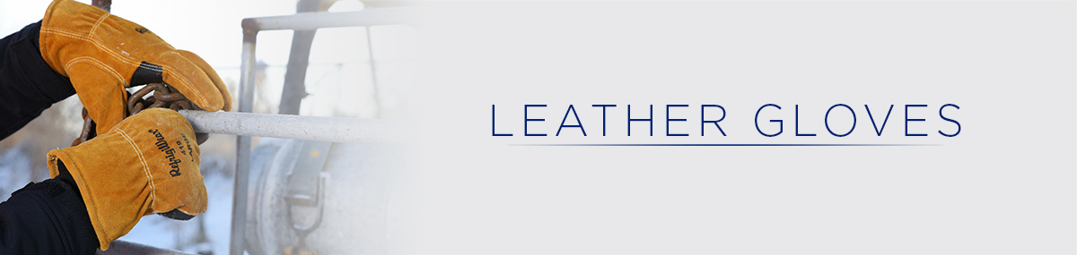 Leather Work Gloves - Goatskin & Insulated Cowhide Hand Wear