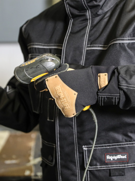 Iron-Tuff® Insulated Leather Gloves
