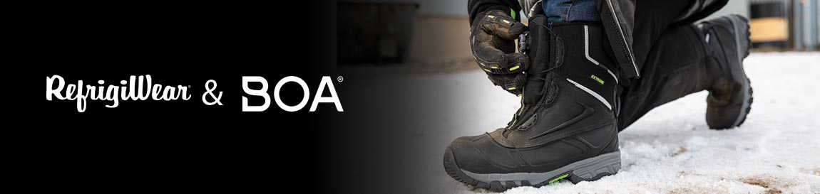 REFRIGIWEAR & THE BOA® FIT SYSTEM – EXTREME COLD WEATHER WORK BOOTS