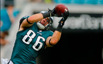 Zach Ertz | Eagles | Memorabilia and Signed Collectibles