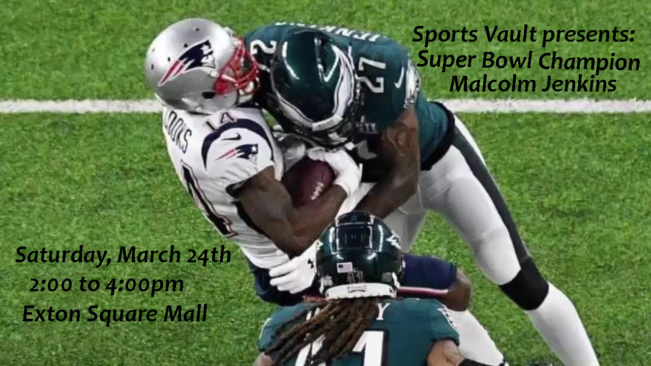 malcolm jenkins autograph signing