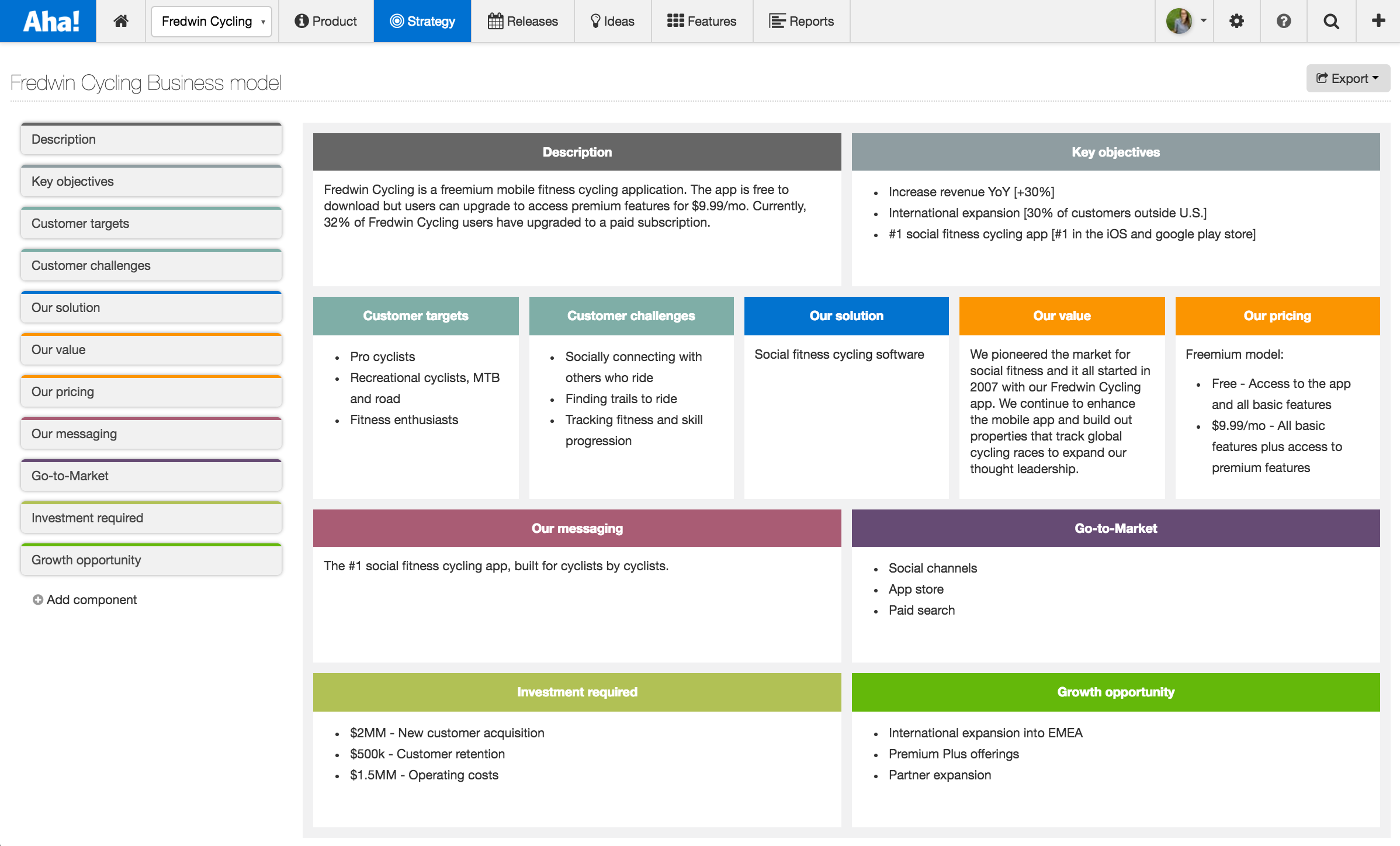 the feature scorecard is a great way to turn your business case details into actionable prioritization decisions