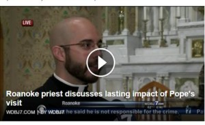 RCS Fr. Kiehl on WDBJ7