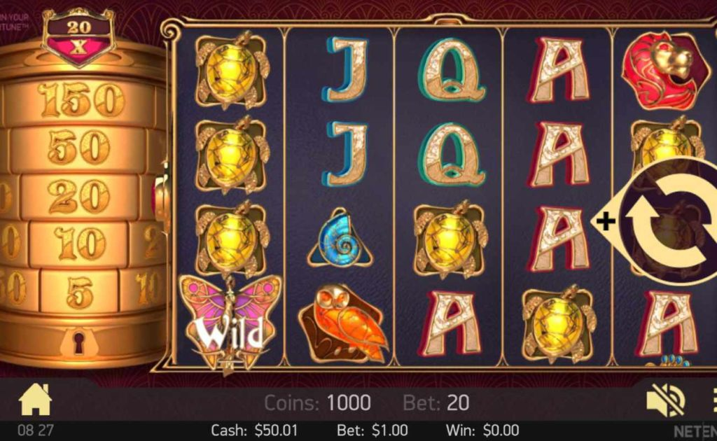 Turn Your Fortune online slot casino game icons