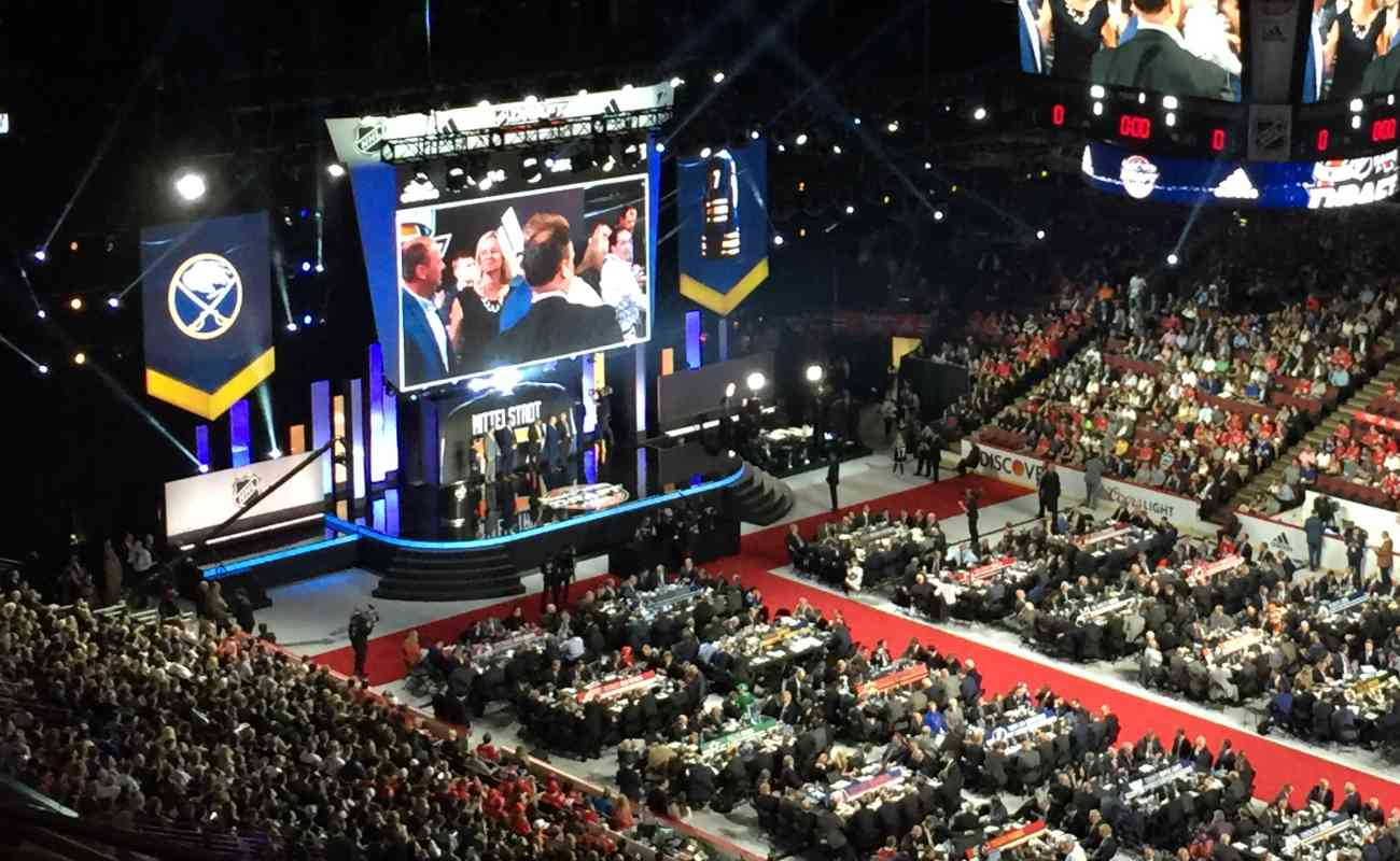 NHL 2017 Entry draft which was held in the city of Chicago