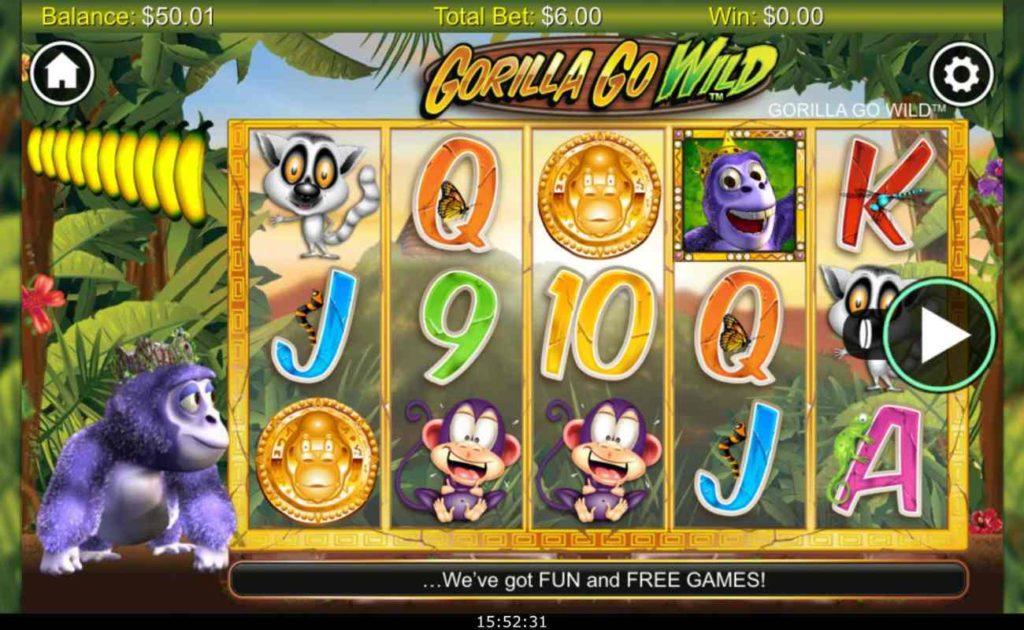 Go Wild Casino Games