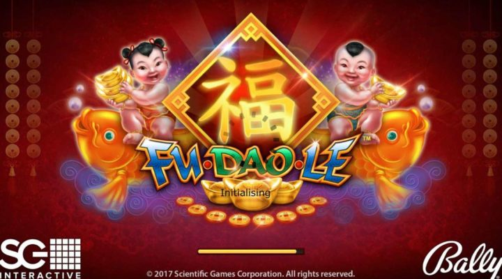 Fu Dao Le online slot casino game loading page
