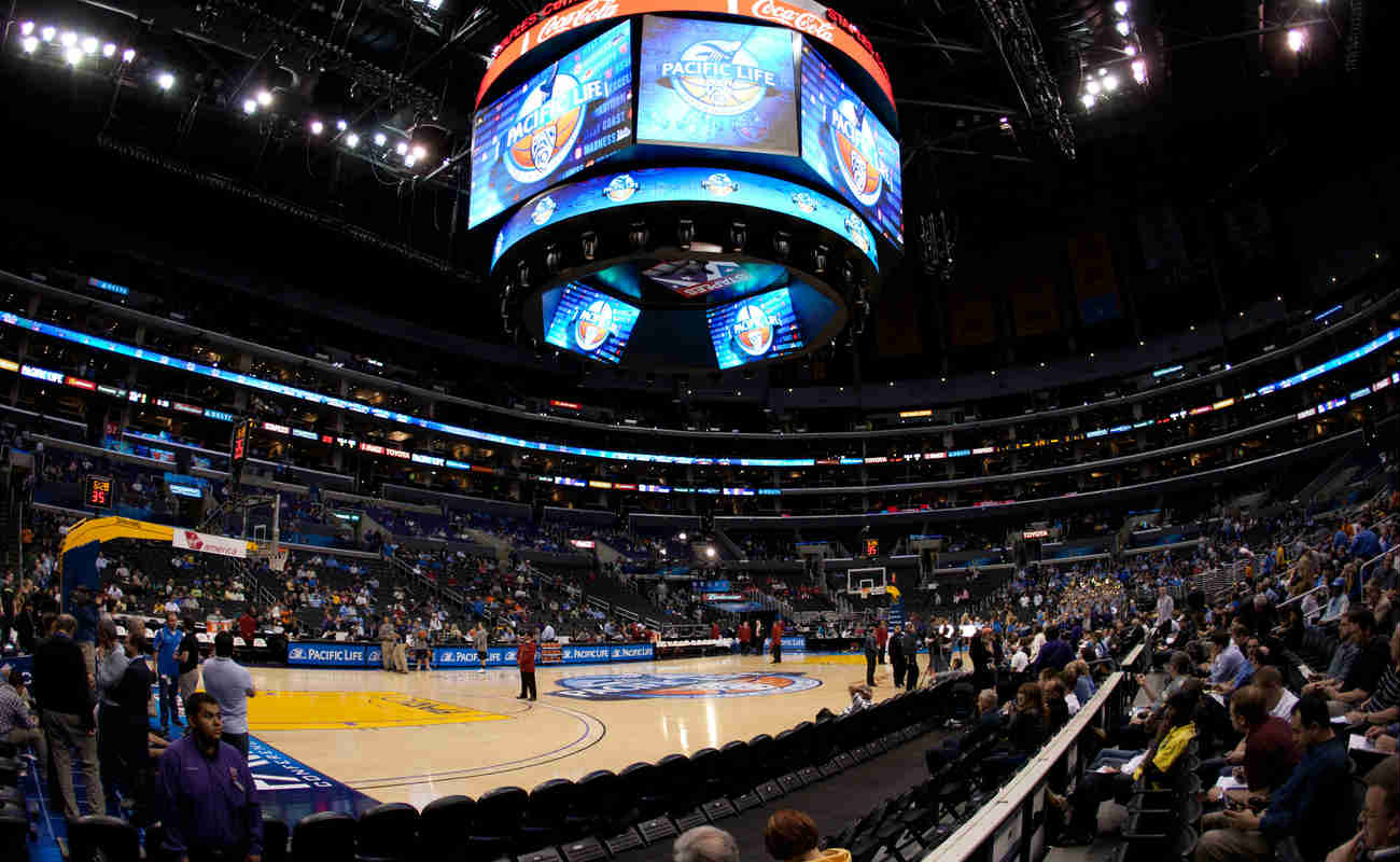 Staples Center, the home of LA Clippers