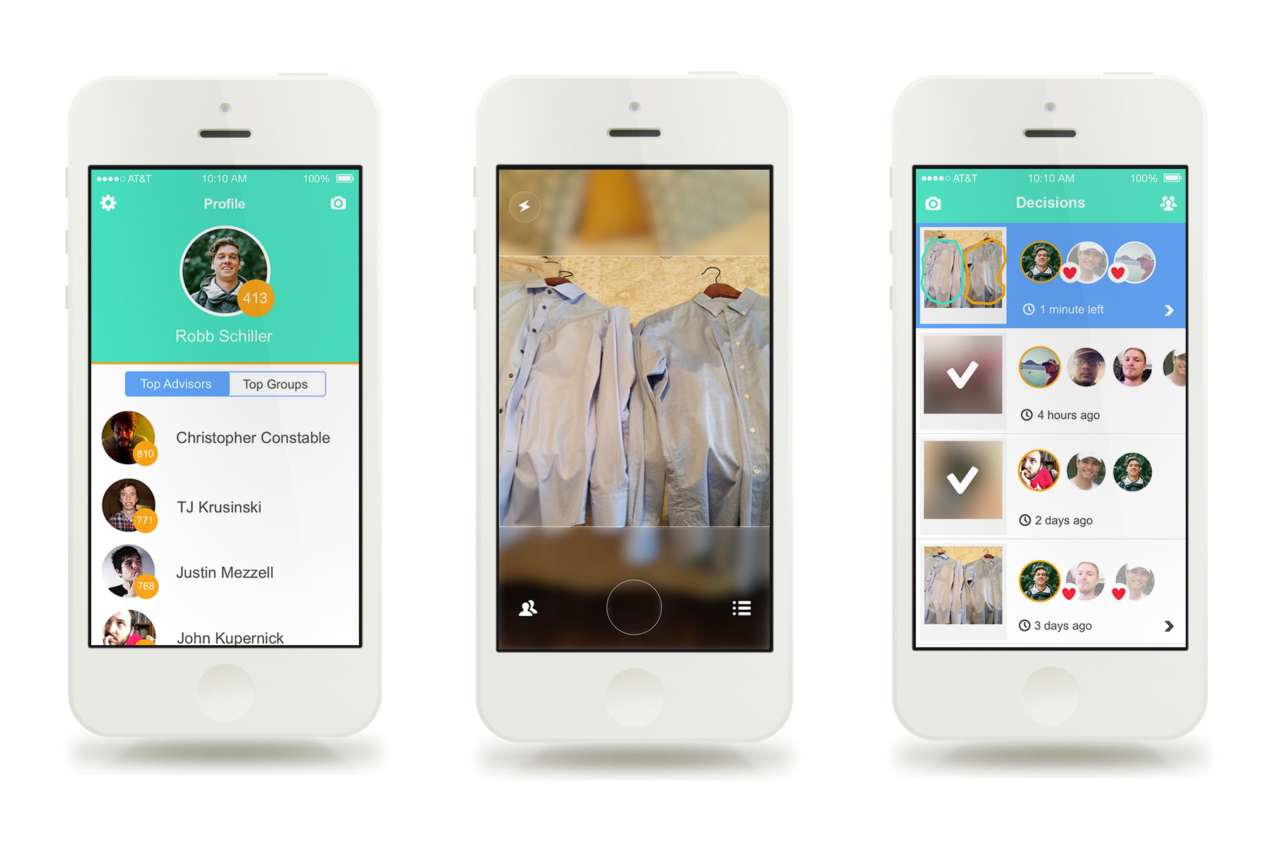 Dekm Mobile UI