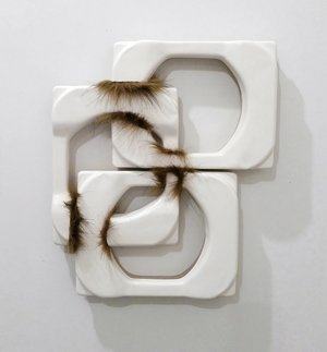 Sharon Lawless, Fur Piece #1, 2018