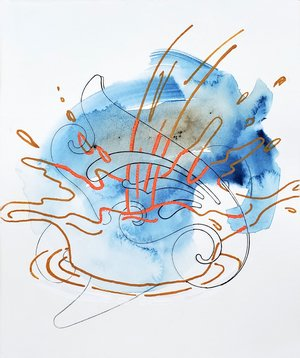 Sharon Lawless, Water Drawing 5, 2020