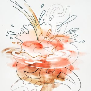 Sharon Lawless, Water Drawing 16, 2020
